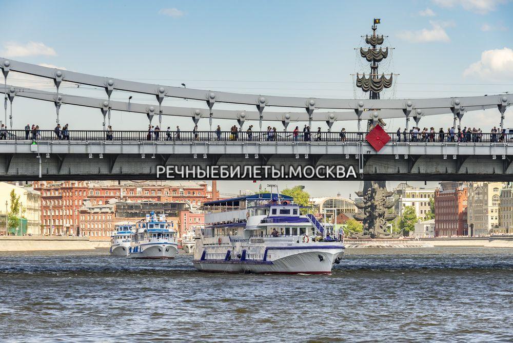 Открытие навигации в Москве 2021 - прогулка на теплоходе по центру с просмотром салюта