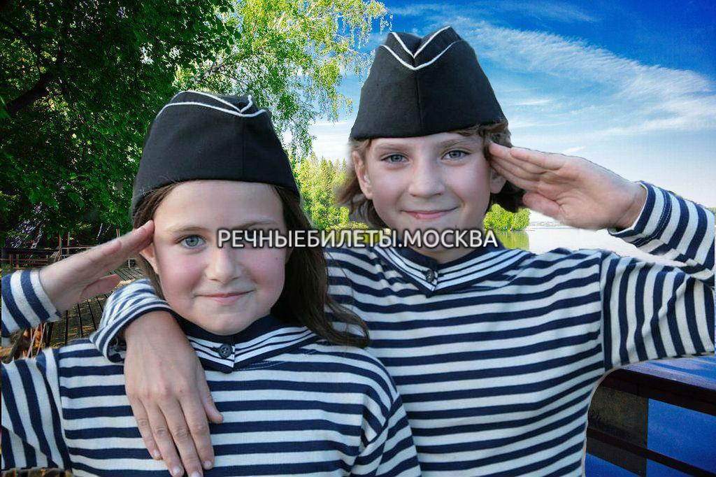 """Речная прогулка с детской программой """"Посвящение в моряки"""""""