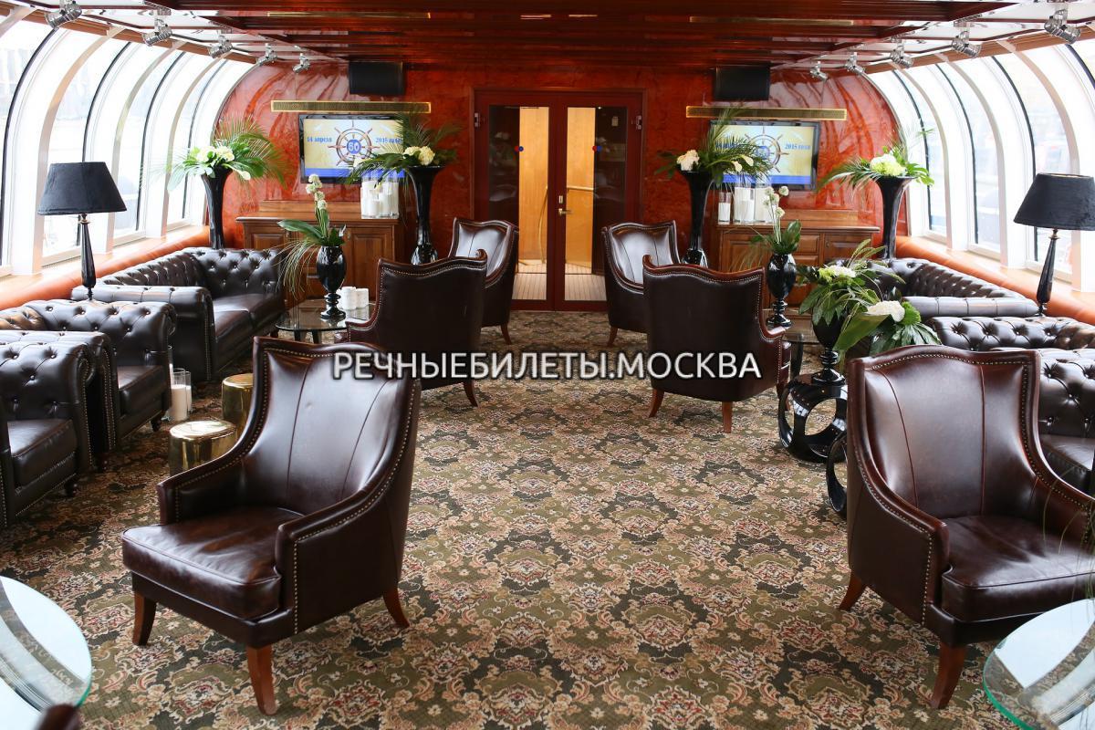 Речная прогулка по Москве на яхте Рэдиссон Роял-класс (гостиница Украина)