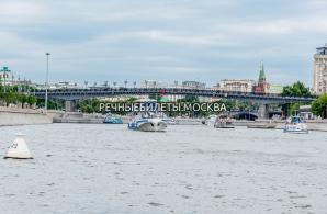 Прогулка по Москве-реке с ужином и просмотром салюта в День Победы на теплоходах проекта «Москва»