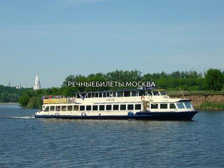 Экскурсионная прогулка на теплоходе по Москве-реке