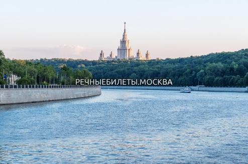 Гранд круиз от Москва Сити по центру, с ужином и живой музыкой и зажигательной дискотекой