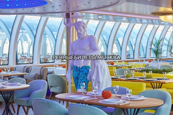 "Речная прогулка по Москве на яхте Рэдиссон ""ERWIN река"" (гостиница Украина)"