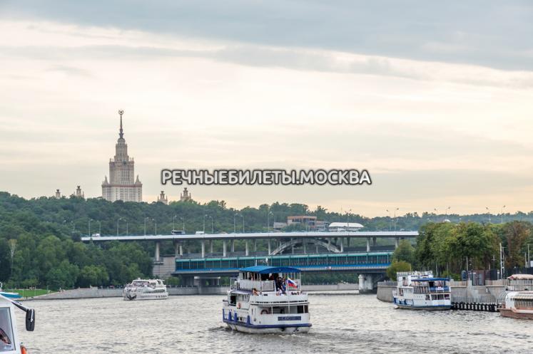 """Речной круиз на яхте """"Пальма де Сочи"""" от Киевского Вокзала"""