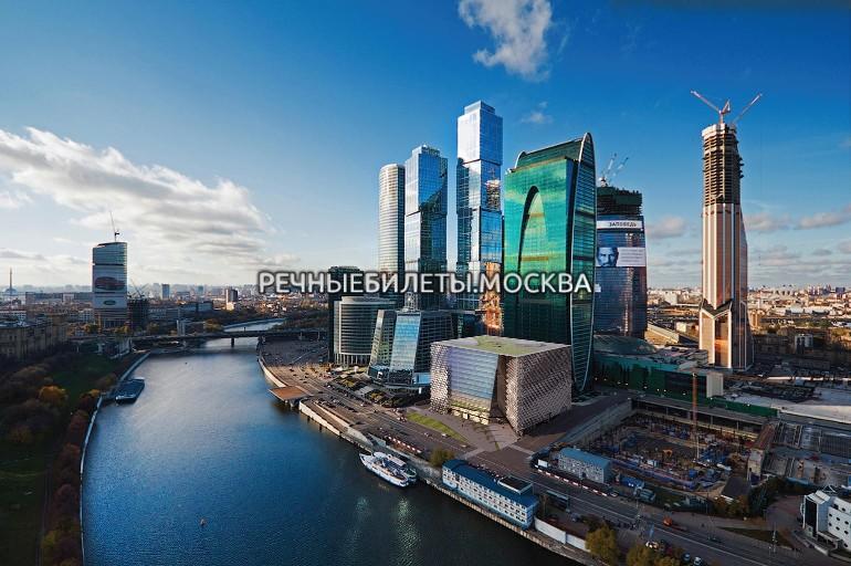 """Гранд круиз от Москва-Сити на теплоходе """"Маэстро"""""""