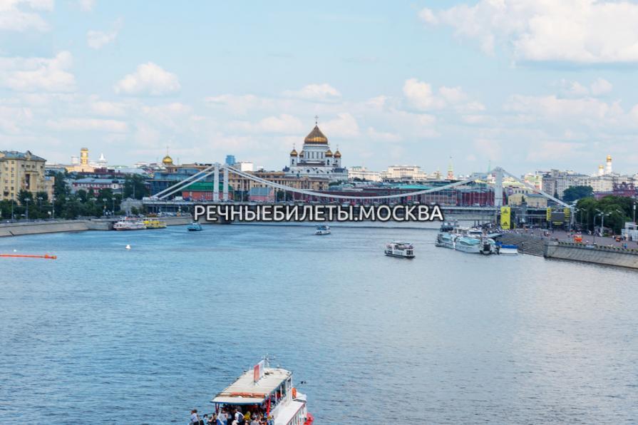 Круиз по центральному прогулочному маршруту (главная прогулочная линия Москвы)