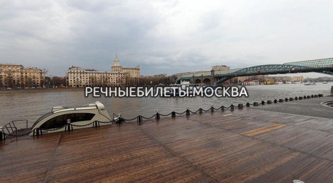 """Причал """"ЦПКиО"""" (Парк им. Горького)"""