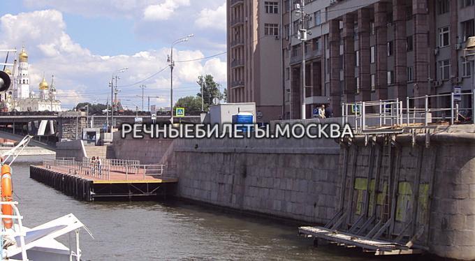 """Причал """"Большой каменный мост"""""""