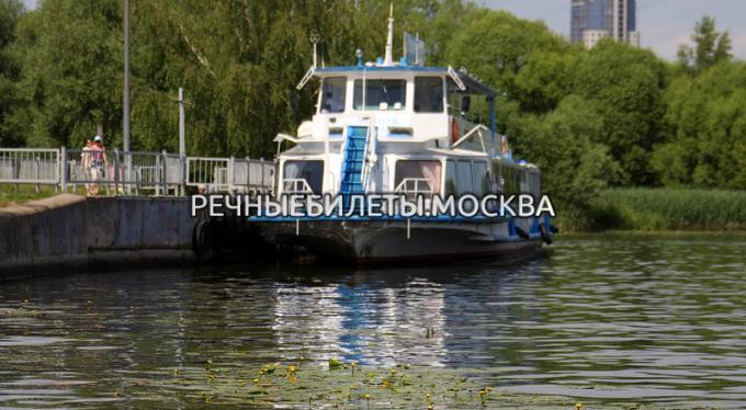 """Причал """"Троице-Лыково"""""""