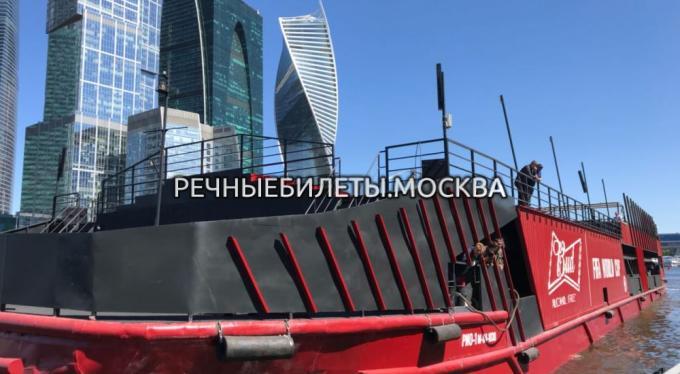 """Теплоход """"Loft Boat"""" Рио-1"""