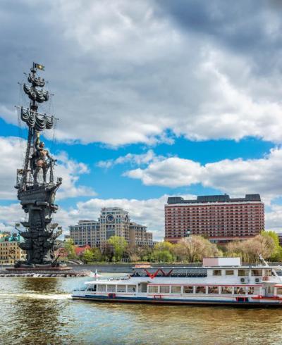 Обзорная прогулка по центру Москвы от Киевского вокзала