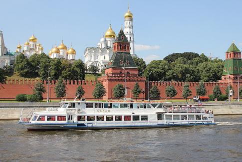 Речная прогулка на теплоходе «Садко» по центру Москвы
